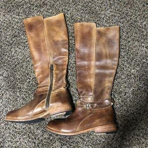Bed Stu Knee Boots Distressed 9